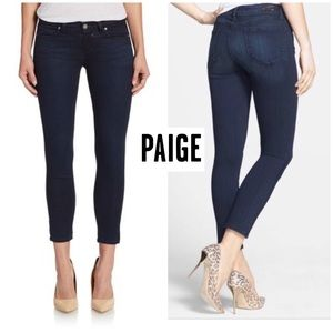 Paige Verdugo Cropped Jeans 25